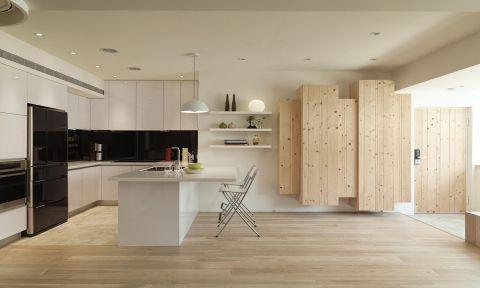 厨房橱柜日式风格装饰图片