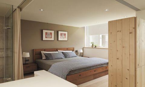 卧室照片墙日式风格装修设计图片
