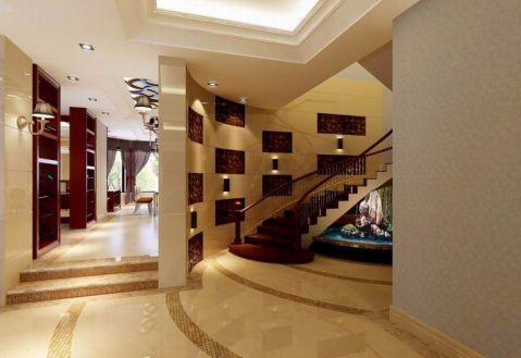 玄关楼梯欧式风格效果图