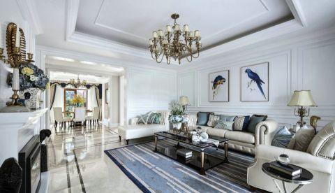 法式风格150平米大户型室内装修效果图