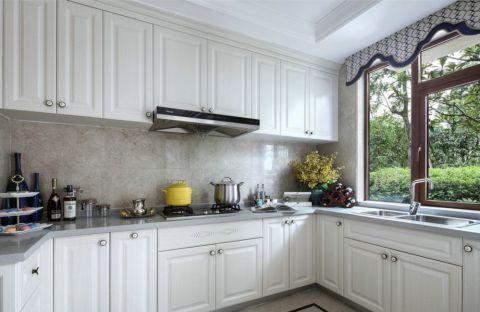 厨房橱柜法式风格装饰效果图