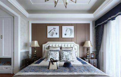 卧室床法式风格装饰图片