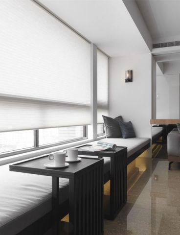 现代简约风格120平米大户型室内装修效果图