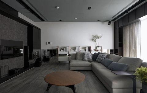客厅沙发现代简约风格装潢设计图片