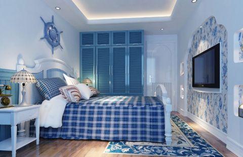 儿童房床地中海风格装饰设计图片