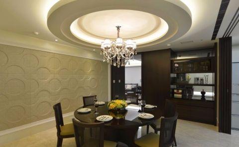 现代简约风格78平米两室两厅室内装修效果图