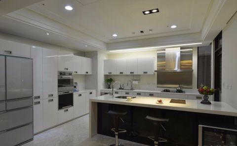 厨房吊顶现代简约风格装修设计图片