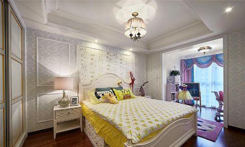 卧室床头柜新古典风格装修图片