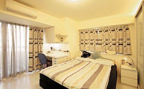 卧室窗帘北欧风格装潢设计图片