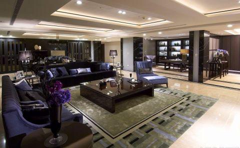 后现代风格138平米四室两厅新房装修效果图