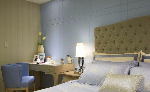 卧室书桌后现代风格装修设计图片