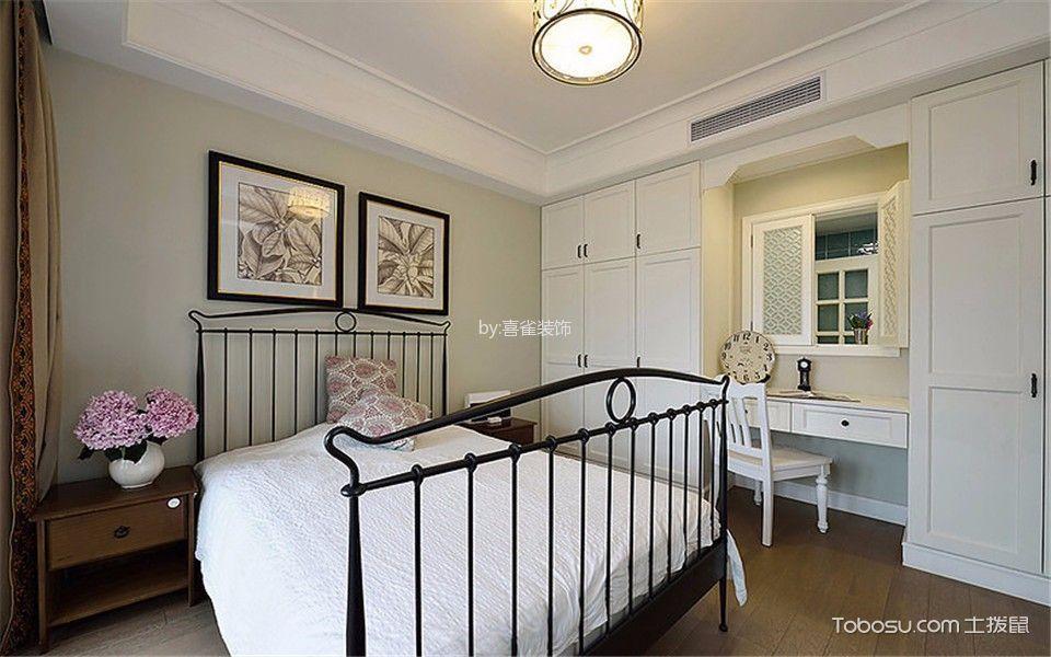 卧室灰色照片墙现代简约风格装修图片