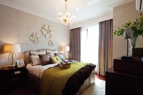 卧室吊顶简约风格装潢图片
