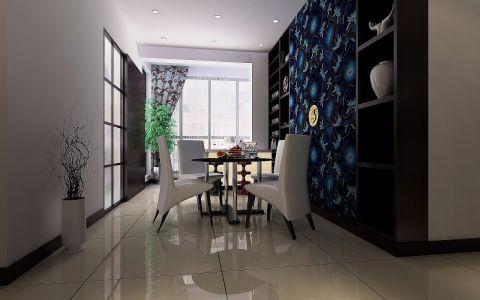 餐厅地砖现代风格装潢设计图片