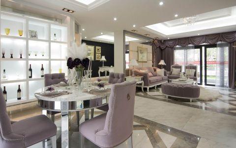 欧式风格163平米公寓室内装修效果图