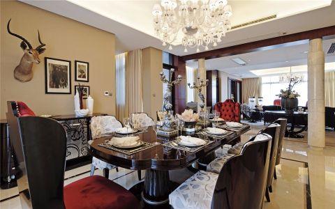餐厅吊顶欧式风格装饰效果图