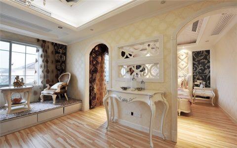 卧室床头柜欧式风格装饰图片