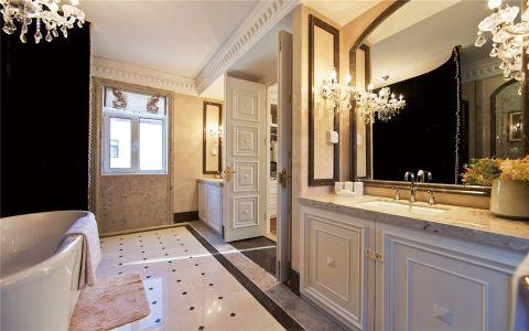 卫生间洗漱台欧式风格装修图片