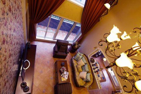 美式风格250平米别墅室内装修效果图
