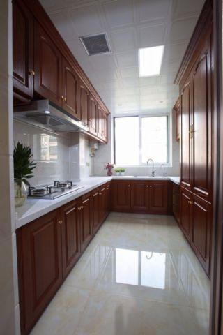 厨房橱柜欧式风格装修效果图