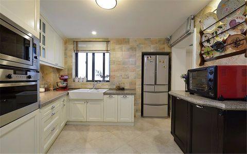 厨房橱柜现代简约风格装饰图片