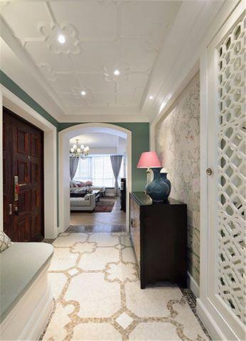 玄关吊顶现代简约风格装饰效果图