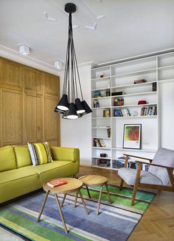 客厅茶几现代风格效果图