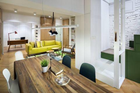 厨房隔断现代风格装潢效果图