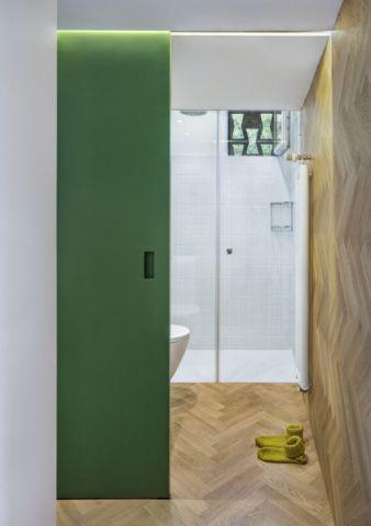 卫生间隔断现代风格装修设计图片