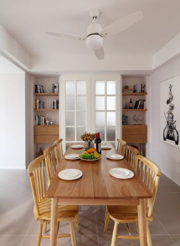 餐厅餐桌日式风格装修图片