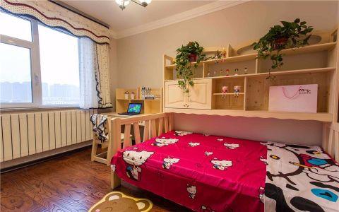 中式风格143平米四室两厅新房装修效果图