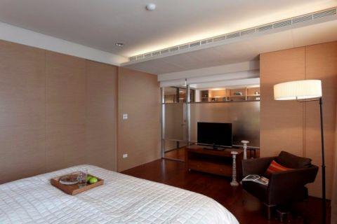 卧室吊顶中式风格装修图片