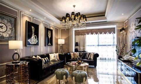 客厅沙发欧式风格装潢设计图片