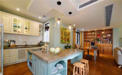 厨房橱柜田园风格装饰效果图