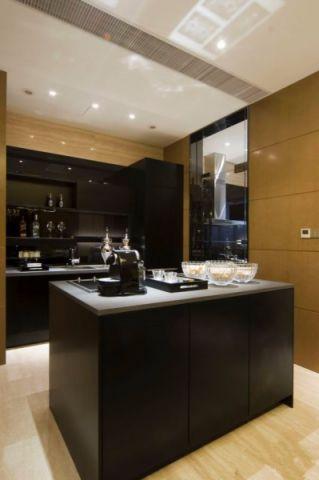 厨房厨房岛台后现代风格装饰图片