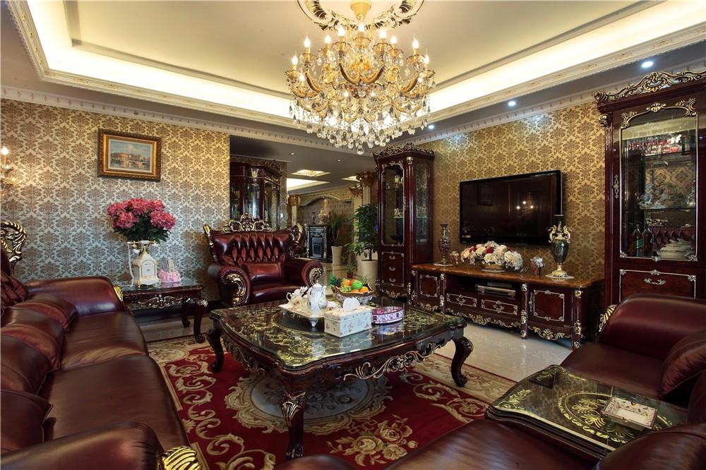4室2卫2厅200平米欧式风格