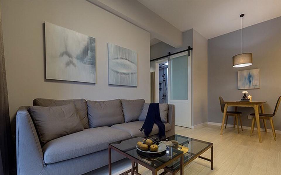 2室1卫1厅67平米简约风格