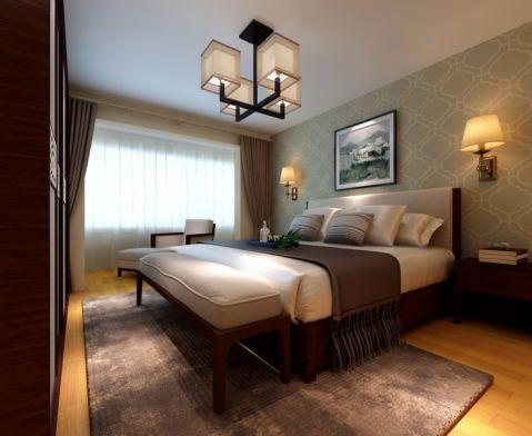 韩式风格60平米一居室新房装修效果图