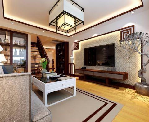客厅吊顶韩式风格装修图片