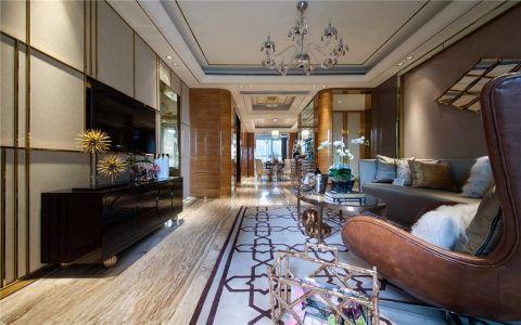 欧式风格135平米套房室内装修效果图