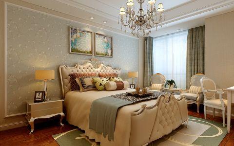 简欧风格140平米三室两厅室内装修效果图