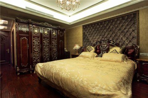 卧室床欧式风格装潢设计图片