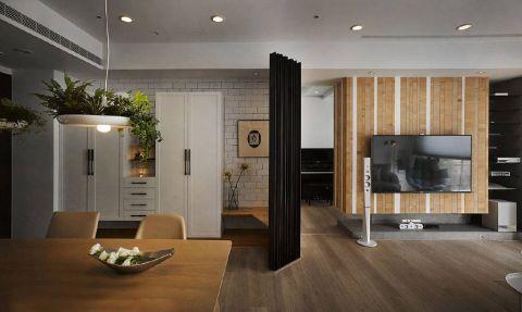 客厅地板砖现代简约风格效果图