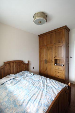 卧室吊顶欧式田园风格装修图片