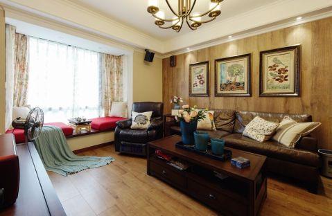 美式风格135平米四室两厅新房装修效果图