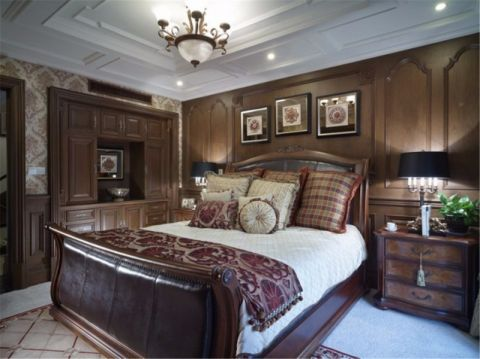 卧室床欧式风格装饰效果图
