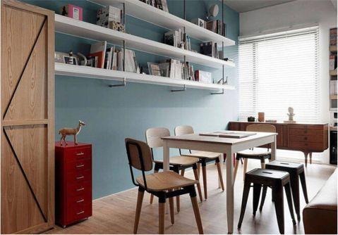 简单风格90平米三室两厅新房装修效果图