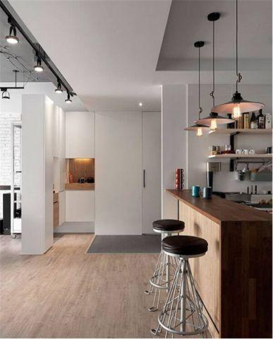 厨房吧台简单风格装潢图片