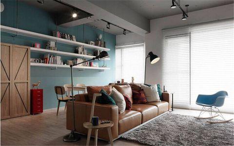 客厅沙发简单风格装修设计图片