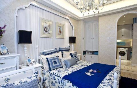 卧室照片墙地中海风格装修效果图